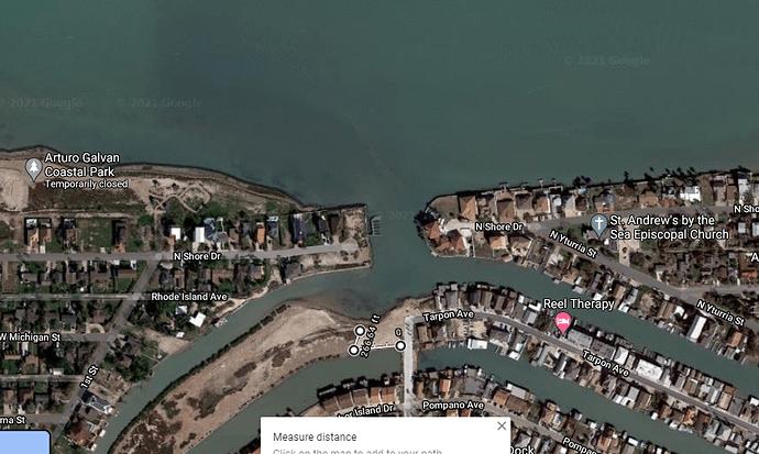 land in port isabel